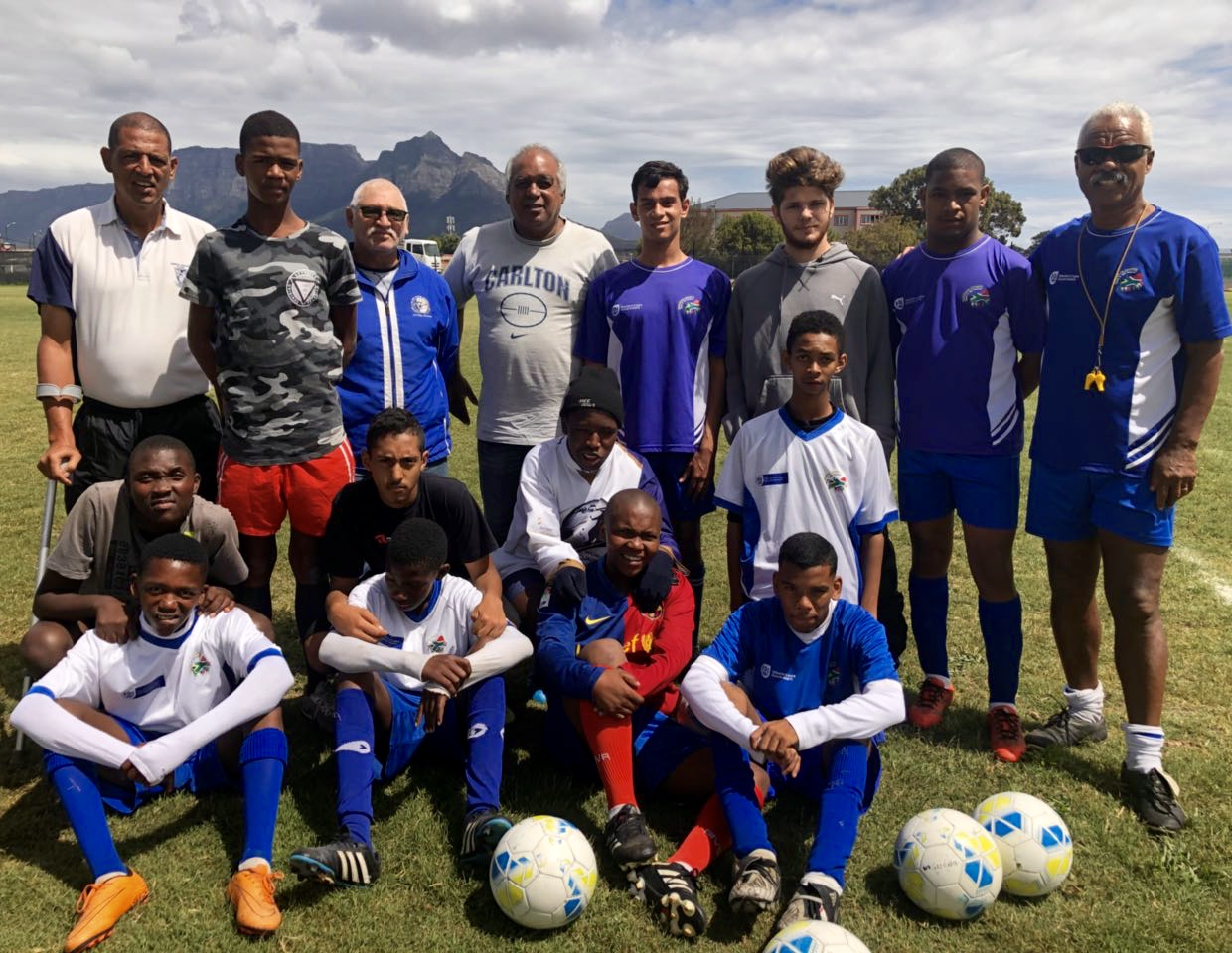 A dream come true for disabled soccer team