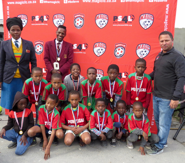 PLAY SPORT4LIFE, MAGIC FC COMBINE TO FIND FUTURE BAFANA WORLD CUP STARS