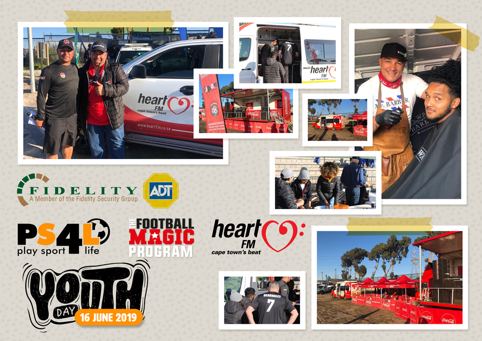 FIDELITY, PS4L FOOTBALL MAGIC PROGRAM AND HEART FM PARTNERSHIP FOR JUNE 16TH YOUTH DAY EVENT