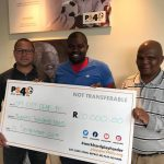 PS4L is proud to announce that we donated R20000 to Cape Town City Deaf FC, founded by Ndipiwe Masiba